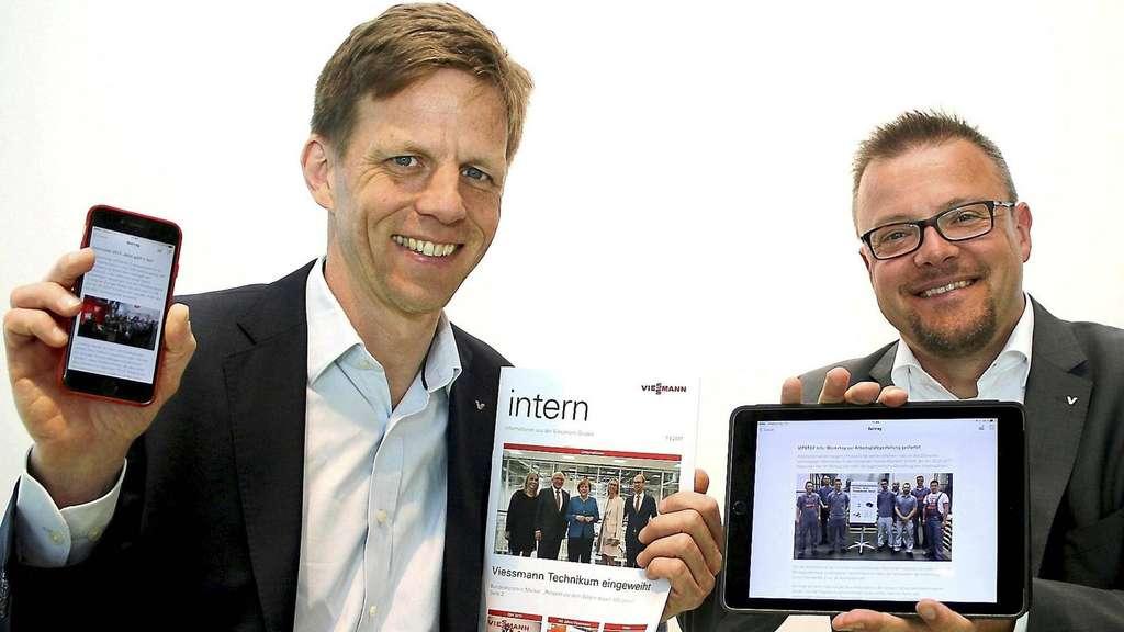 Die Mitarbeiter-App von Viessmann: Vi2Go