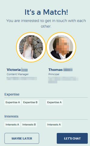Matchmaking Plugin Mitarbeiter-App