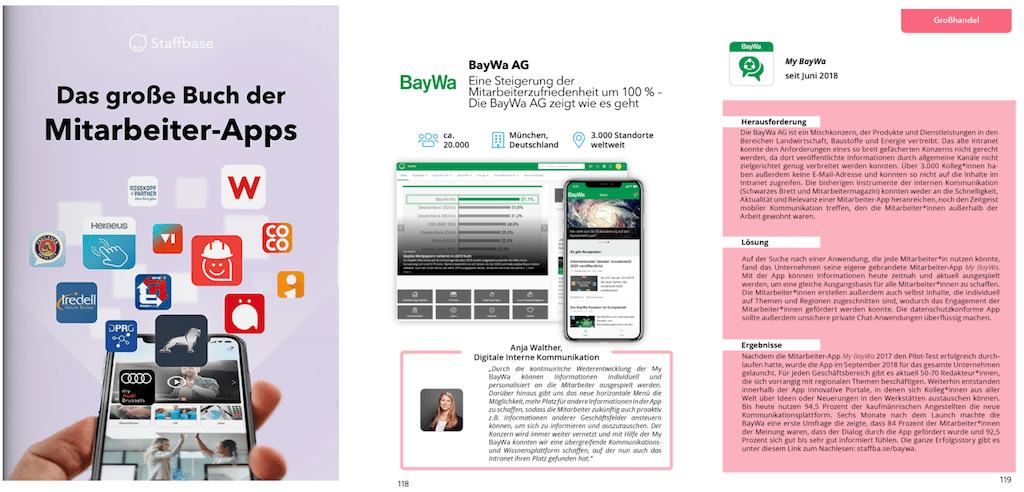 Buch Mitarbeiter App Baywa