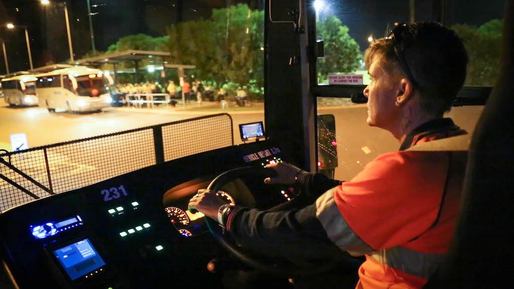 Buslink Vivo kommuniziert via einer Mitarbeiter-App