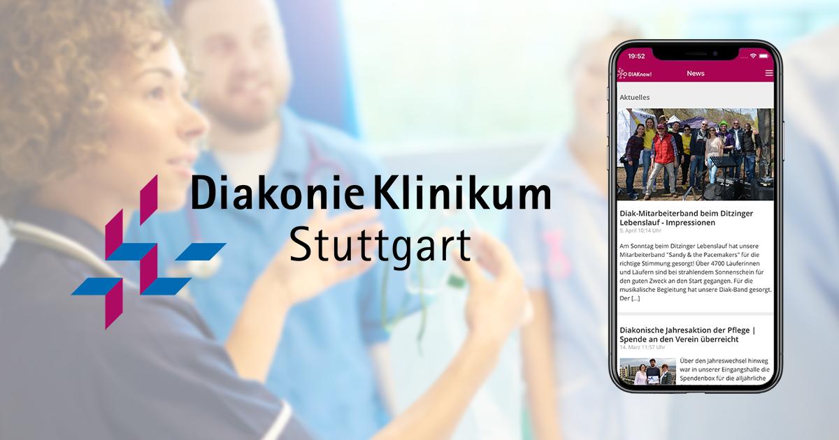 Diakonie Stuttgart Mitarbeiter-App