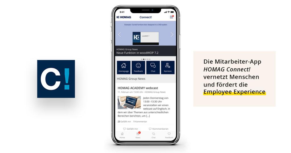 Homag Connect! Vernetzt Mitarbeiter Und Fördert Die Employee Experience
