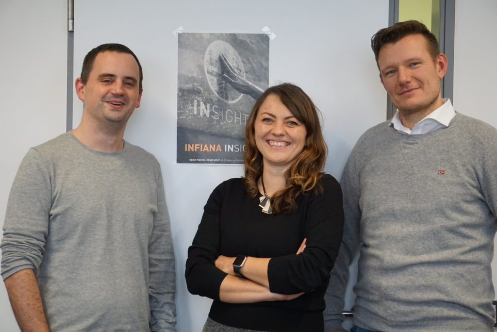 Infiana Team Infiana Mitarbeiter-App sorgt für internationale Transparenz