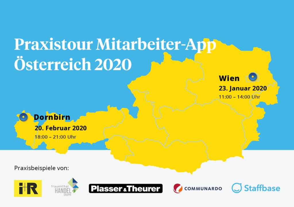 Praxistour Oestereich Karte A5 V3
