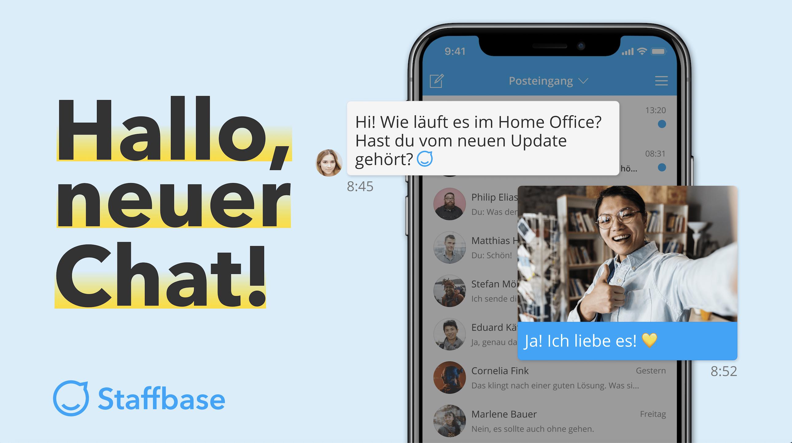 Release 4.3 Neuer Staffbase Chat