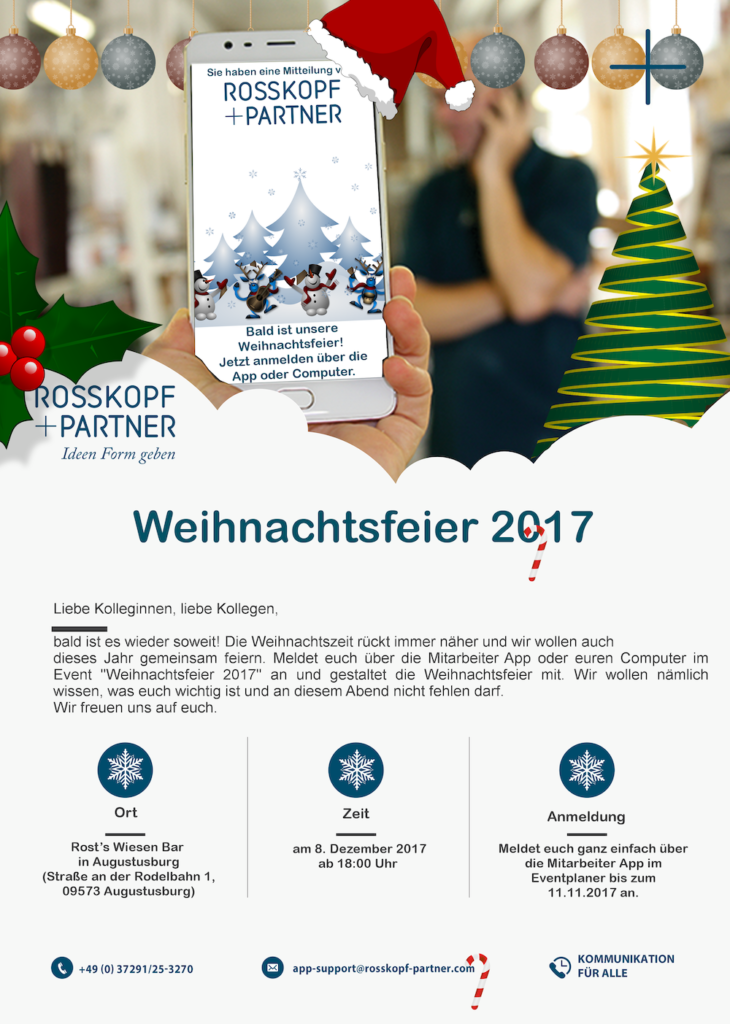 Rosskopf Partner Launch