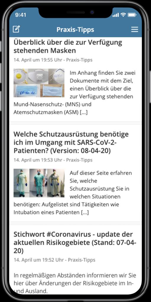 Staffbase NOW App Niederösterreichsiche Landesgesundheitsagentur Praxis-Tipps