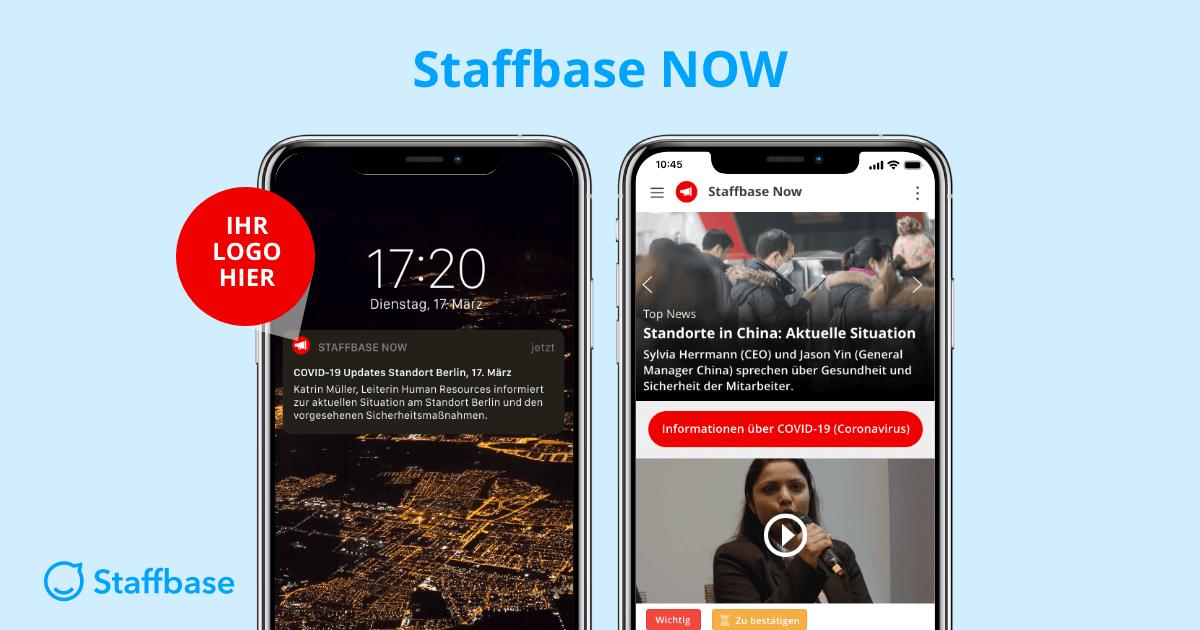 Staffbase NOW: Neue Lösung für Krisenkommunikation mit Mitarbeitern