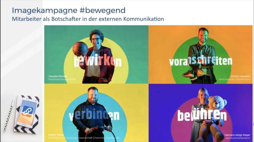Volksbank Chemnitz Mitarbeiter Als Influencer