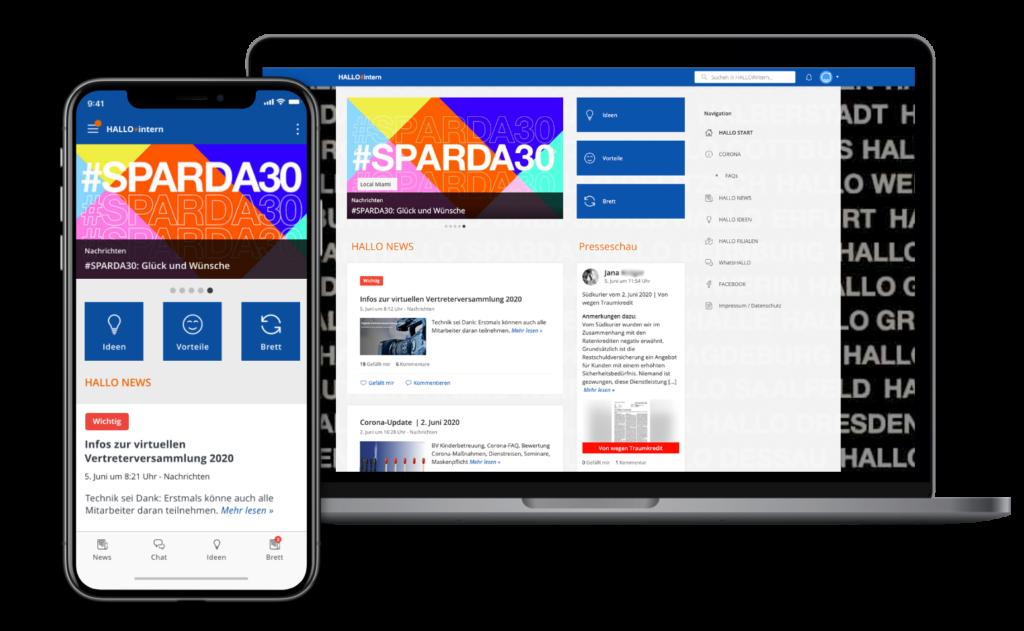 App Screen Sparda Bank