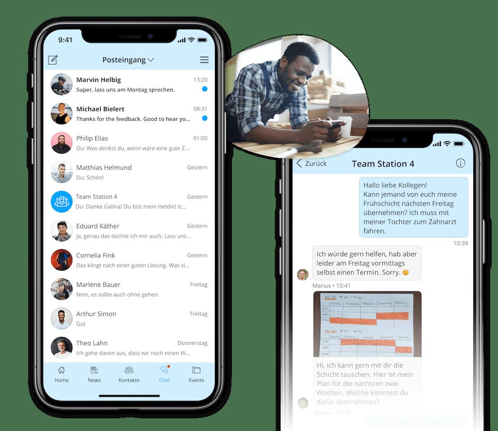 Instant Messenger für Unternehmen