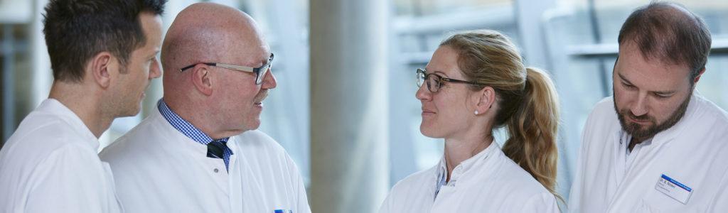 Mitarbeiter des Diakonie-Klinikums Stuttgart