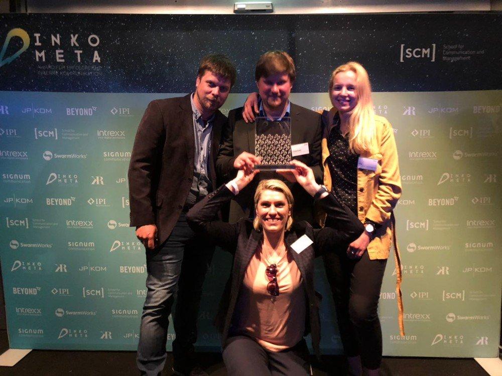 Der Inkometa-Award für die beste Mitarbeiter-App geht an die Deutsche Telekom
