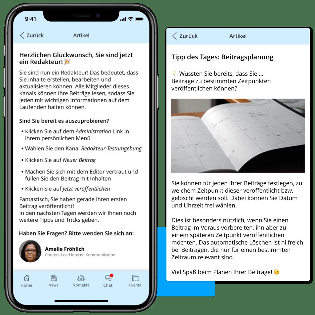 Journeys Article App Editor De