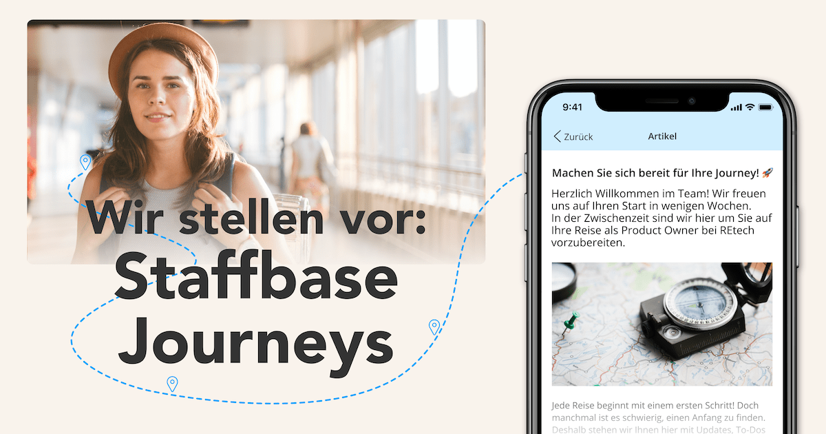 Wir stellen vor: Staffbase Journeys Mobil