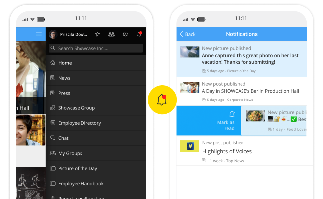 Preview Notificationcenterlive
