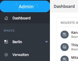 spaces menu