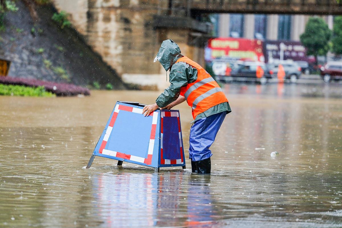 Sturm Hochwasser
