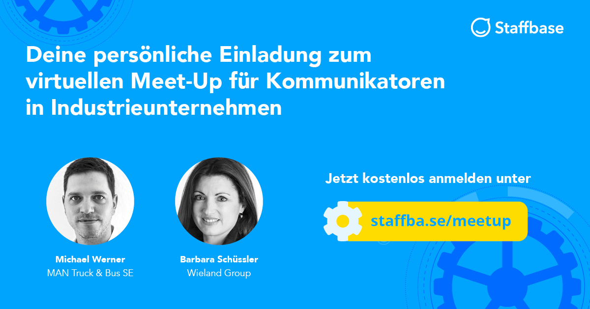 Meet-Up für Kommunikatoren in Industrieunternehmen