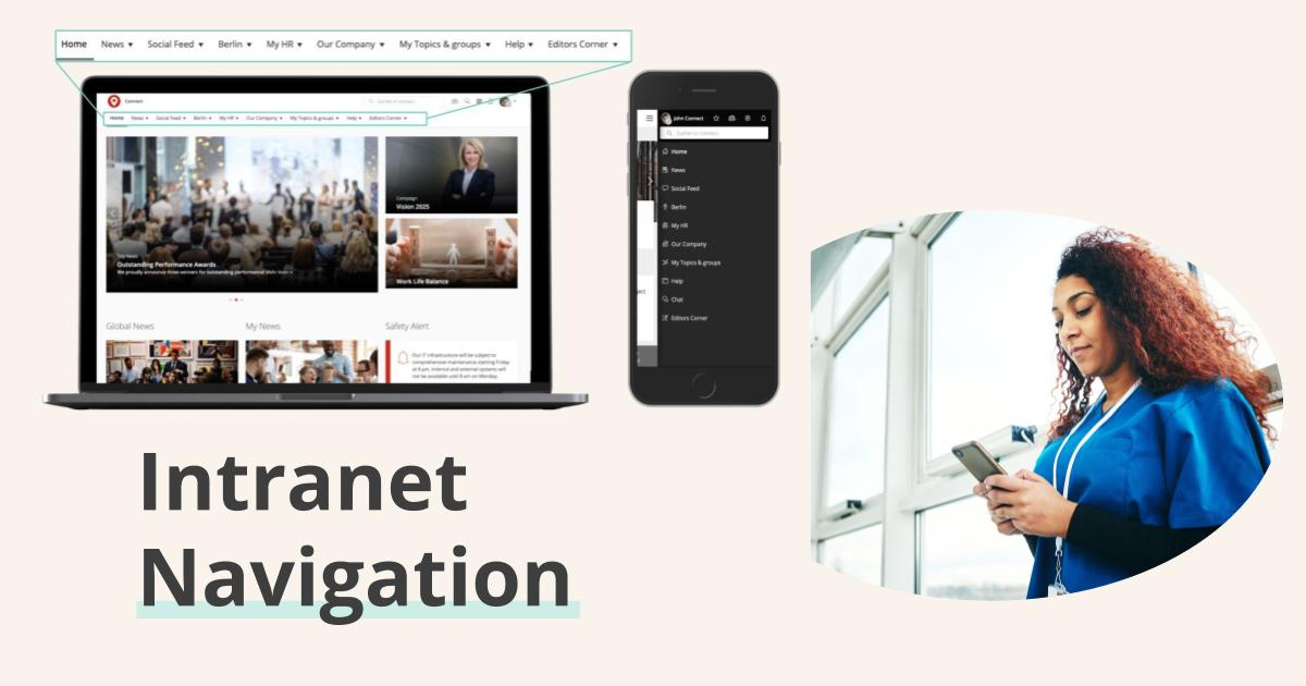 Teaser Image Intranet Navigation