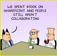Dilbert SharePoint Comic