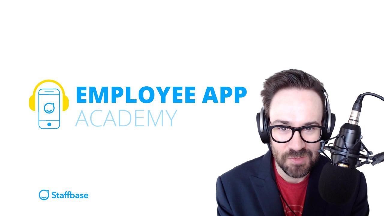 Staffbase Employee App Academy