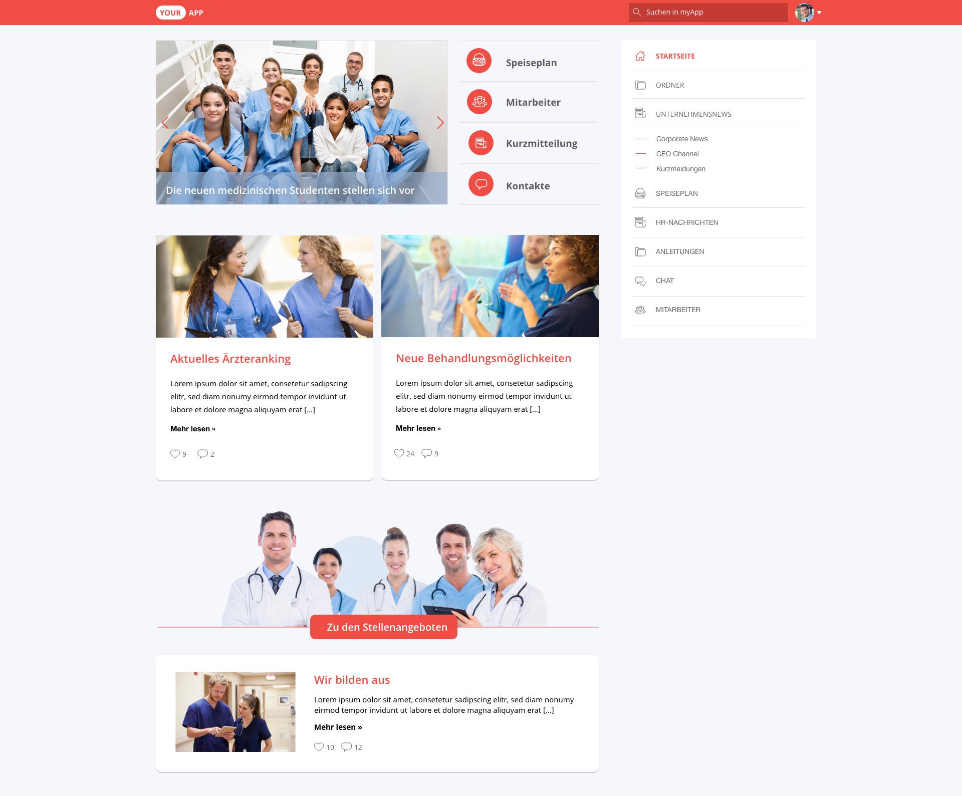 Hospital  - Web
