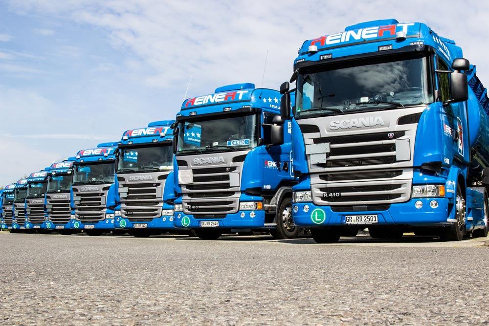 Logistik, Transport, Mitarbeiter-App