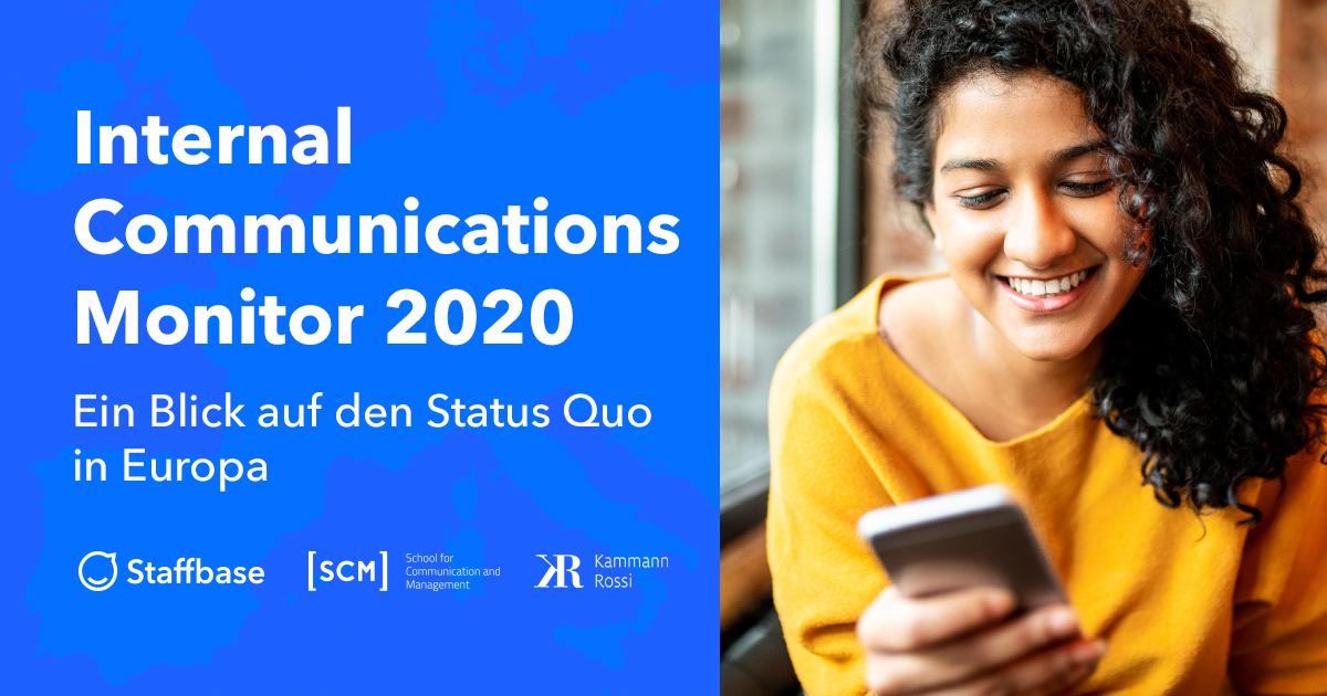 Internal Communications Monitor Europa 2020: Studie zum Status der internen Kommunikation