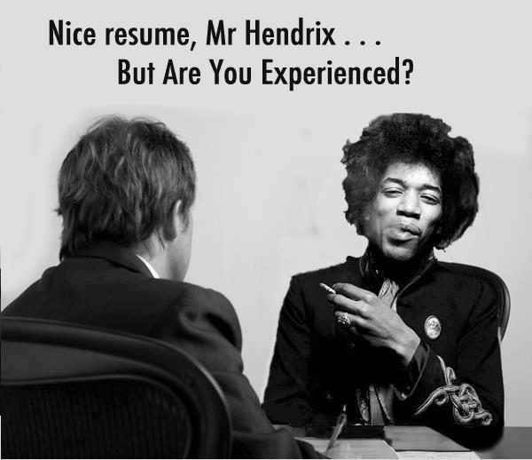 Nice Resume, Mr Hendrix... Imgur