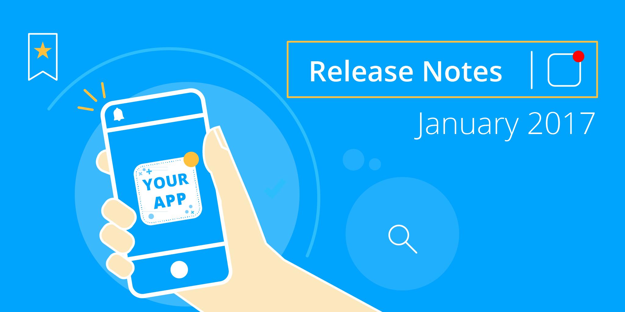Staffbase Release Notes January 2017
