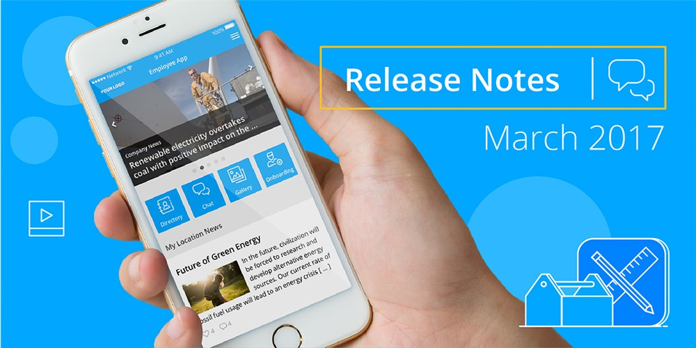 Staffbase Release Notes March 2017