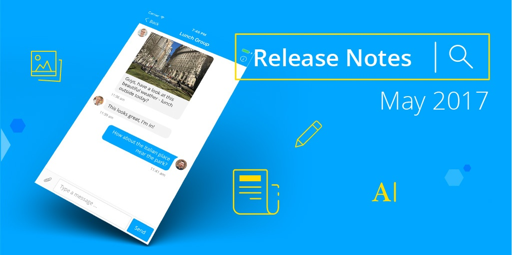 Staffbase Release Notes May 2017