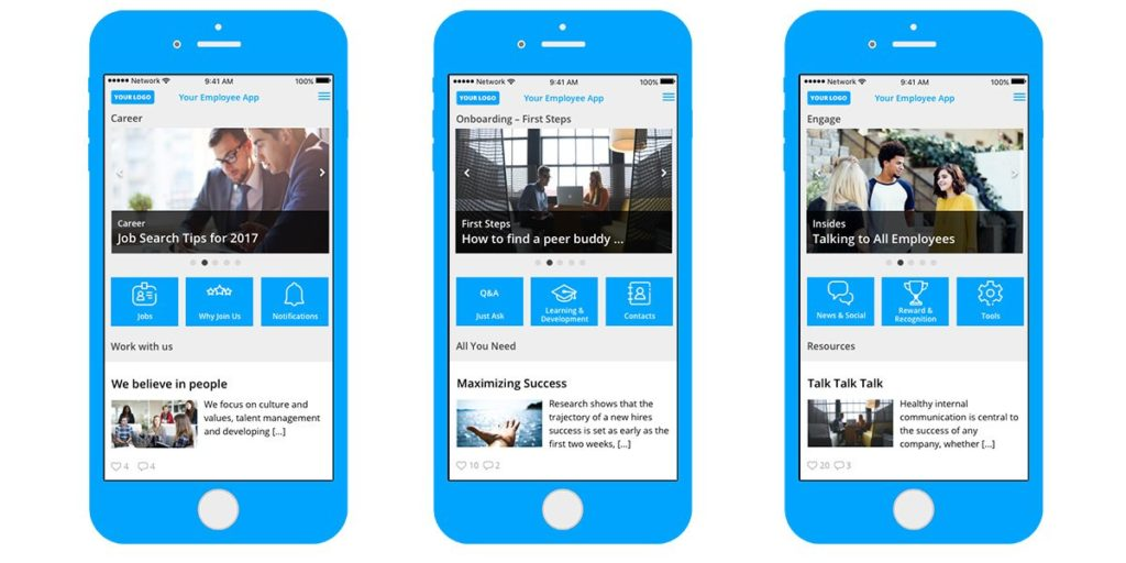 Staffbase Onboarding App
