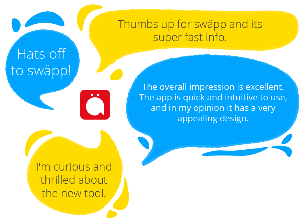 Comments Swäpp Employee Experience App from Staffbase