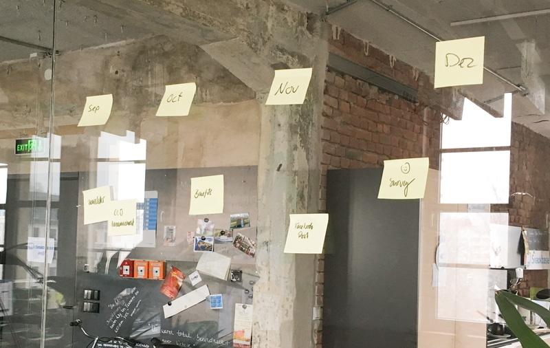 Scrum Planning Staffbase