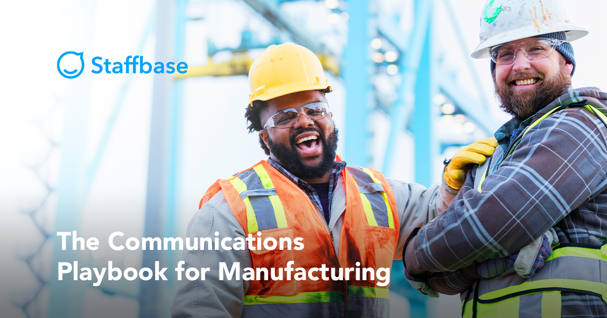 Staffbase-The Communication Playbook for Manufacturing