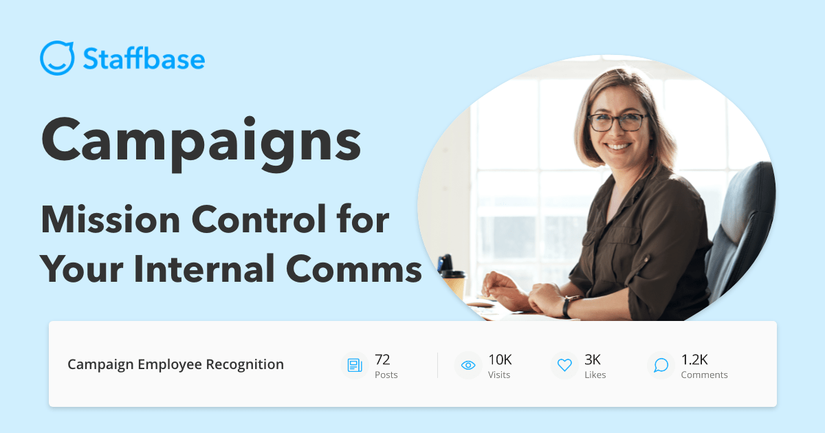 Staffbase Campaigns Mission Control for Your Internal Comms