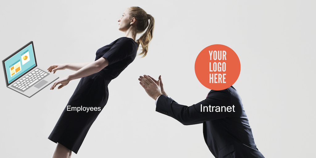 Intranet branding creates trust