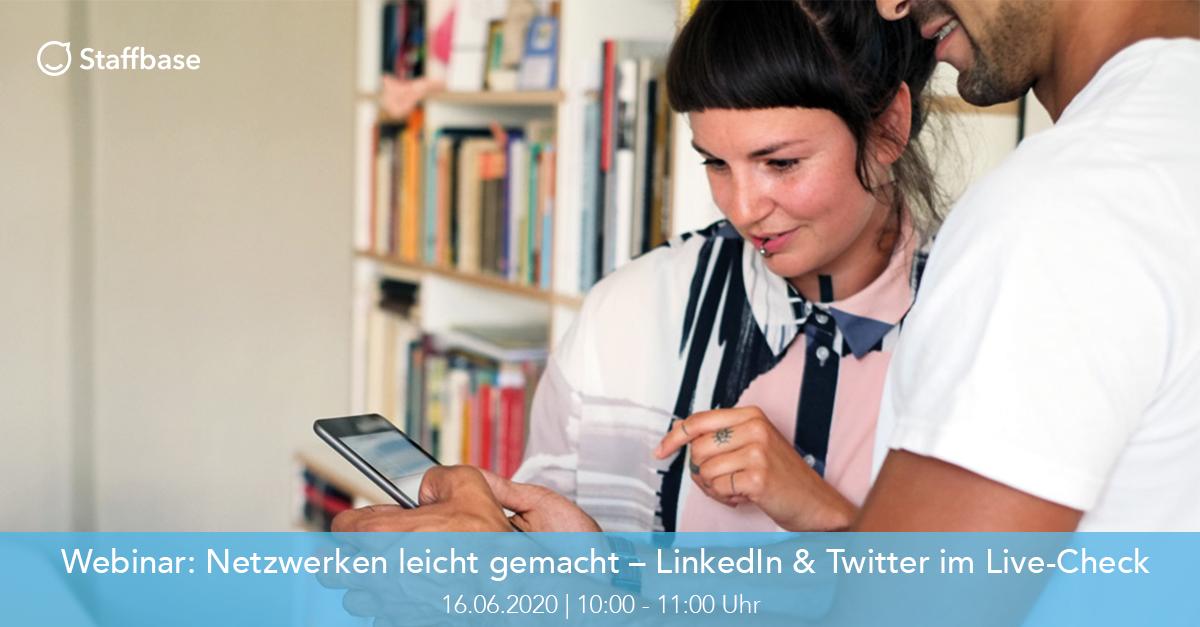 Teaser Social Webinar Linkedin & Twitter
