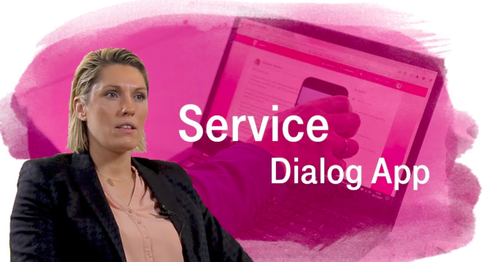 Staffbase customer case study: The Telekom Service Dialog App