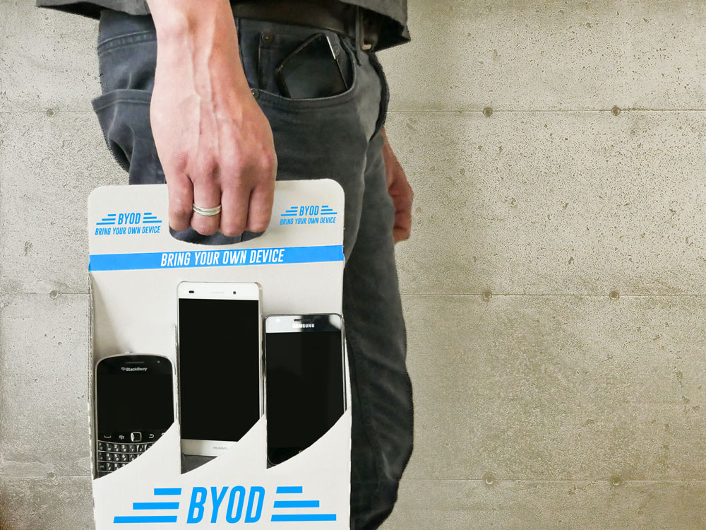 Teaser BYOD Bring Your Own Device