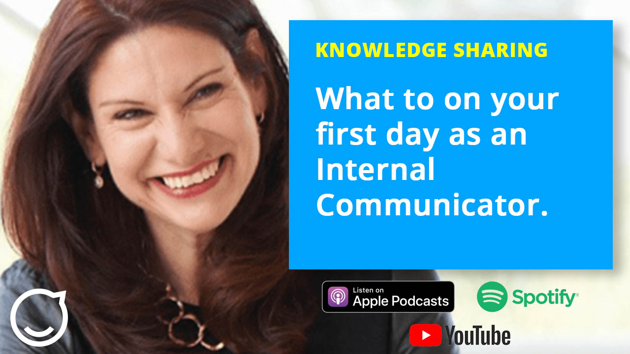 Day one as an internal communicator with Katie Macaulay