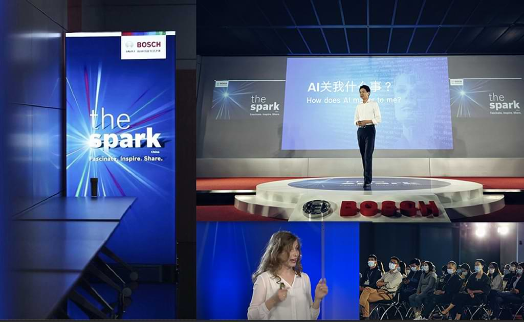"An employee-generated internal communication example: Bosch ""The Spark"""