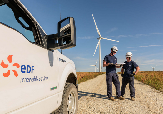 Edf Wind Farm Workers