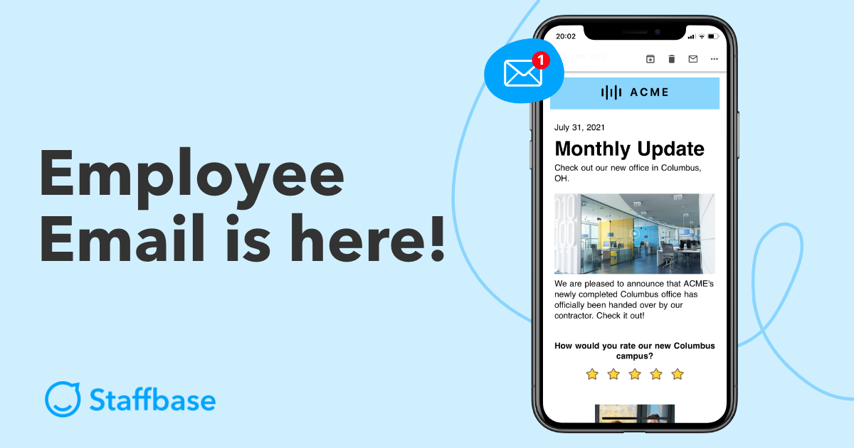 Staffbase Employee Email is here