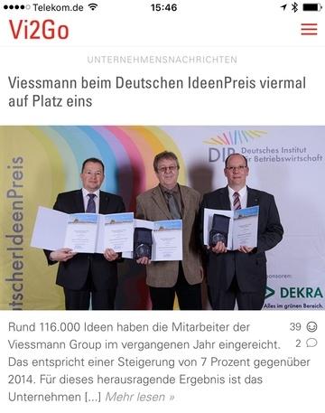 Vi2Go Prize-Winner