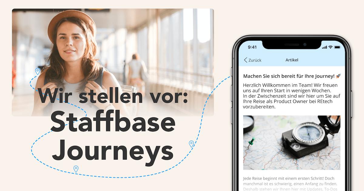 Wir stellen vor: Staffbase Journeys Mobil