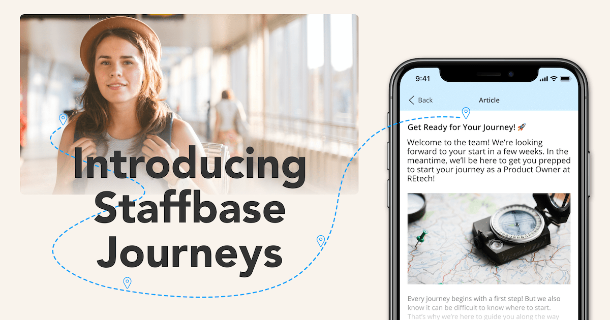 Introducing Staffbase Journeys