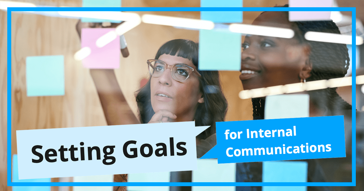Setting Goals In Internal Communication